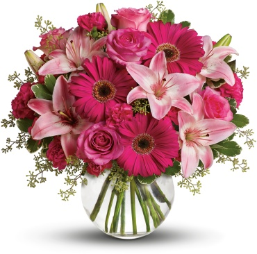 A Little Pink Me Up