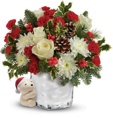 Send a Hug® Bear Buddy Bouquet