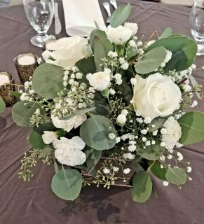 Pure White Centerpiece