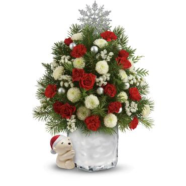 Send a Hug® Cuddly Christmas Tree